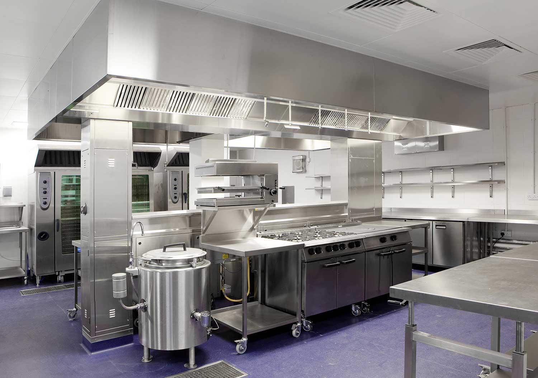 استانداردهای طراحی آشپزخانه صنعتی